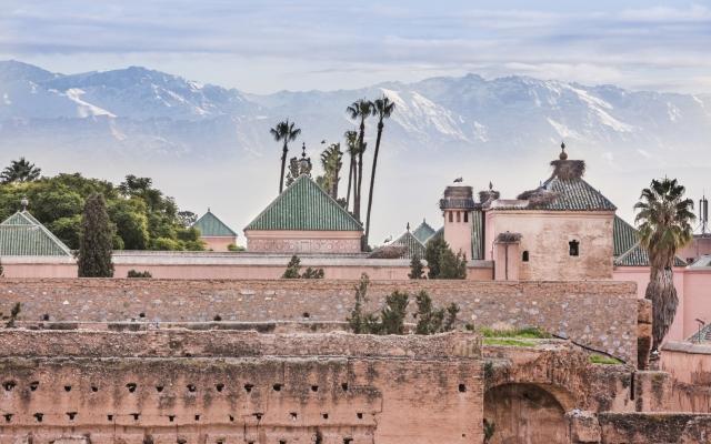Stadtpanorama Marrakesch