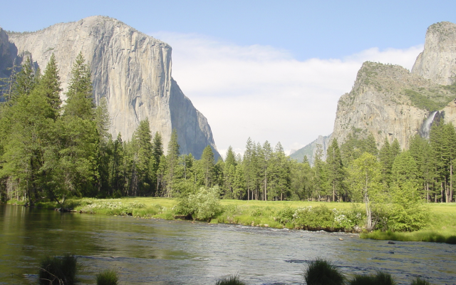 Grandiose Landschaft im Yosemite Nationalpark