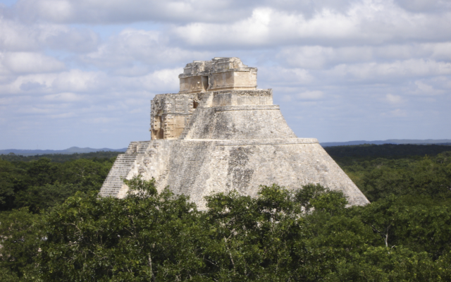 Uxmal: Pyramide des Zauberers