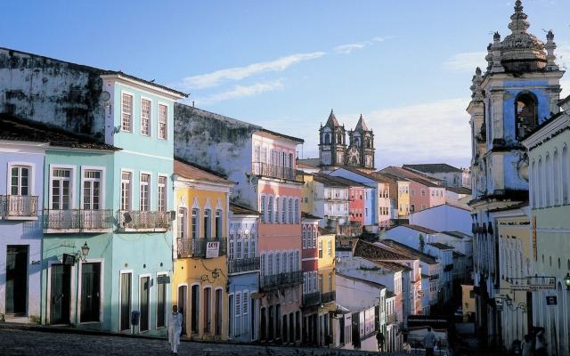 Salvador de Bahia, Brasilien pur