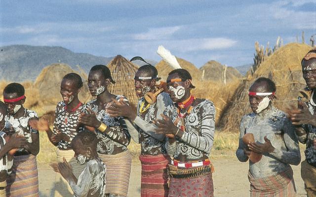 Begegnung in Süd-Äthiopien