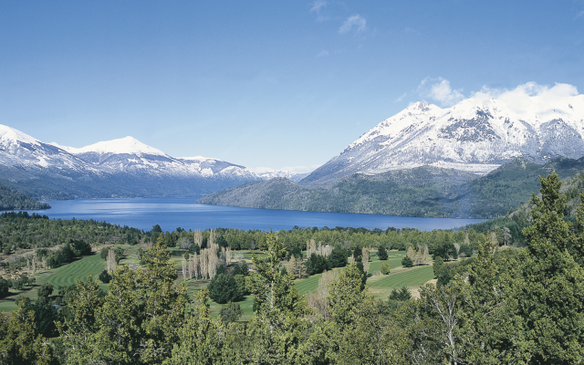 Die patagonischen Anden