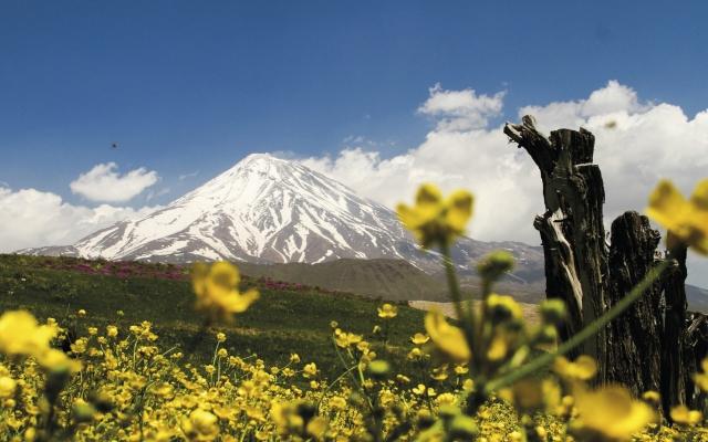Der höchste Berg des Iran, der Damawand