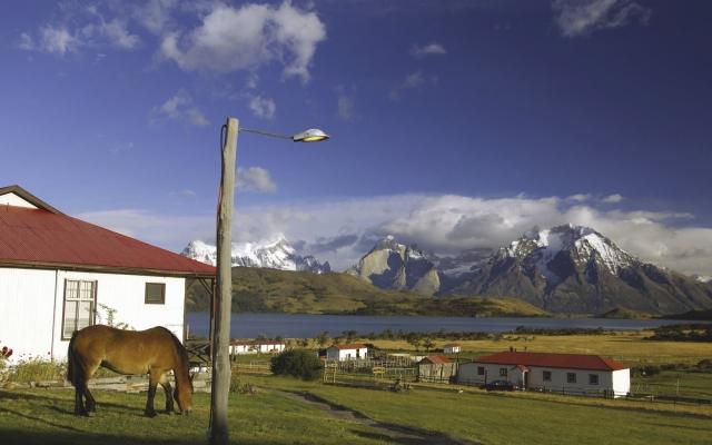 Die Berge des Torres del Paine-Nationalparks