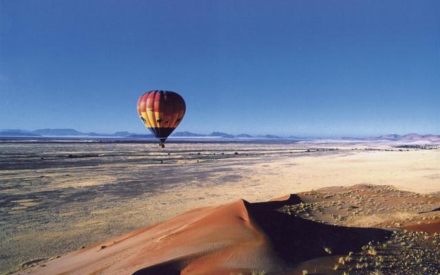 Fakultativer Ballonausflug am Sossusvlei