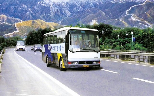 Auf guten Strassen im Komfort-Bus unterwegs