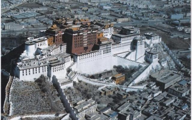 Blick auf den Potala, Lhasa