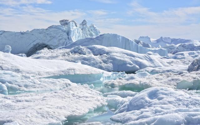 Wunderschöne Eisberge in der Diskobucht