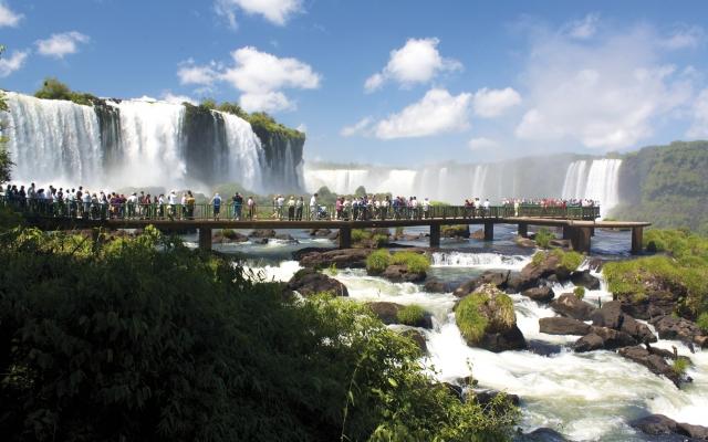 Die Wasserfälle von Iguassú