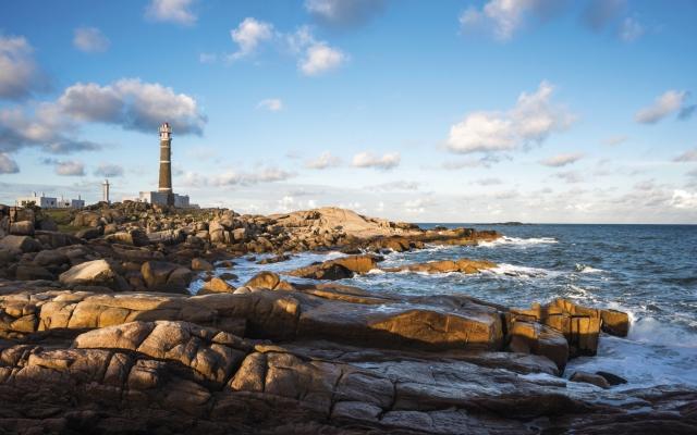 Der Leuchtturm von Cabo Polonio
