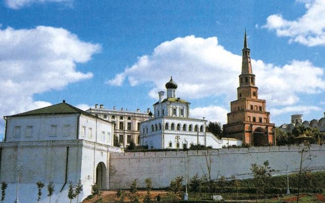 Der Kreml von Kasan an der Wolga