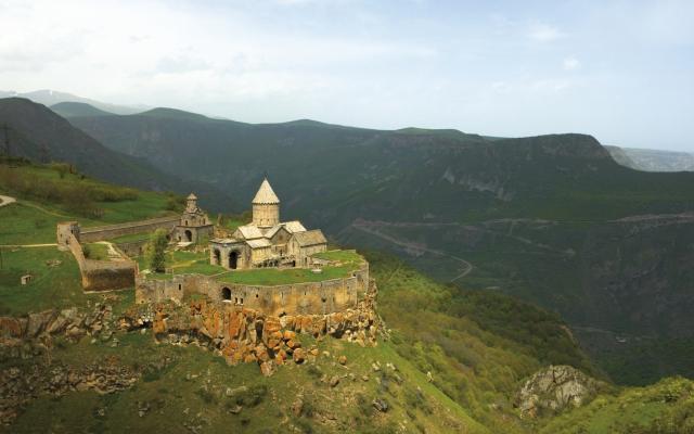 Das Kloster Tatev im Süden Armeniens