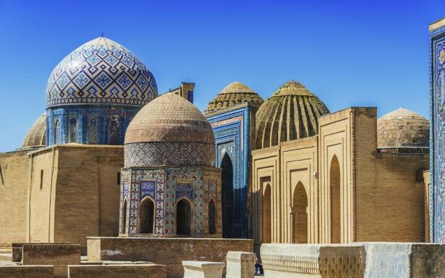 Shahi-Zinda Nekropole, Samarkand