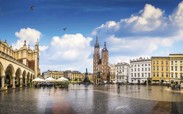 Historisches Stadtzentrum Krakau