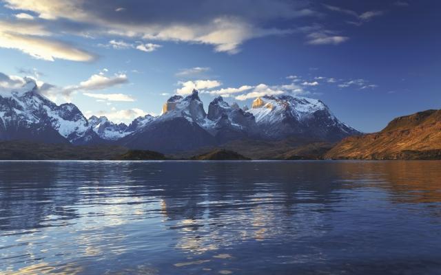 Die Cuernos im Torres del Paine Nationalpark