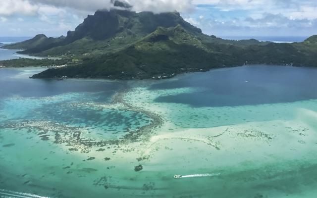 Bora Bora mit seiner grandiosen Lagune