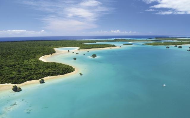 Upi, eine der schönen Buchten der Île des Pins