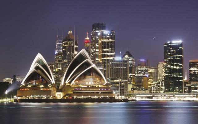 Sydney Opera House am Abend
