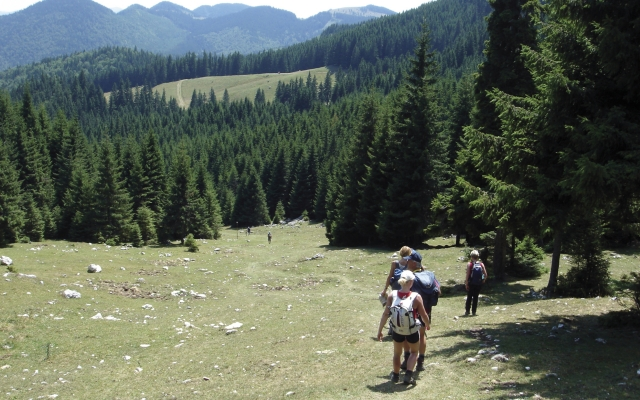 Im Wanderparadies Karpaten