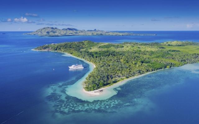 Unterwegs mit der Fiji Princess