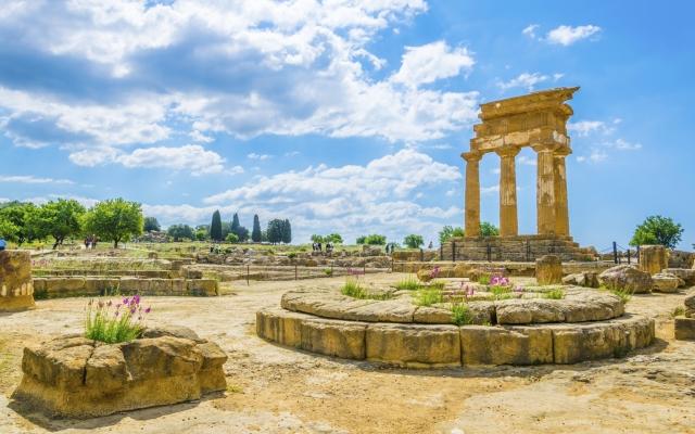 Ruinen des Tempels von Castore & Polluce, Agrigent