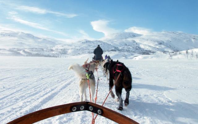 Unterwegs in Lappland