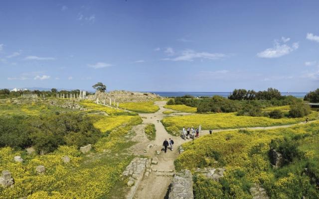 Famagusta_ Salamis Ausgrabungsstätte
