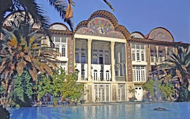 Gartenpalast im Eramgarten in Shiraz