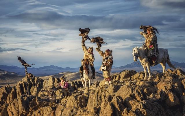 Das legendäre Adlerfest in der Mongolei